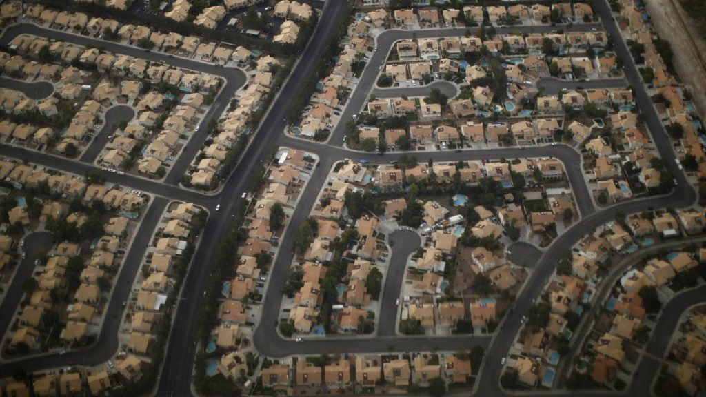 suburb-aerial-view