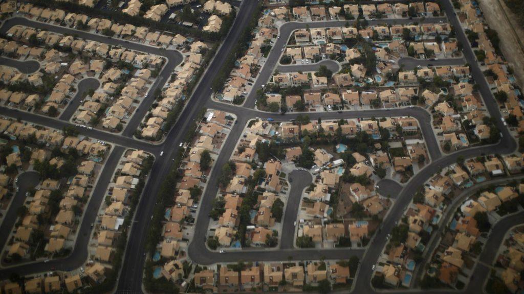 suburb-aerial-view